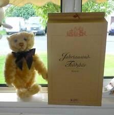 BEAR Steiff Millenium Bear EAN 670374 Teddy Bear, Jointed, Growler -Rare -MINT!