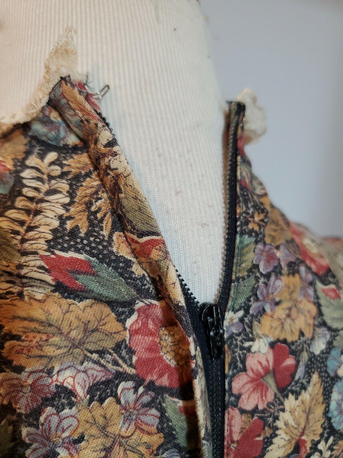 vintage gunne sax prairie dress Small womens tall… - image 6