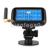 U901 Tpms Car Truck Tire Pressure Monitor System+ 6 External Sensors Lcd Display