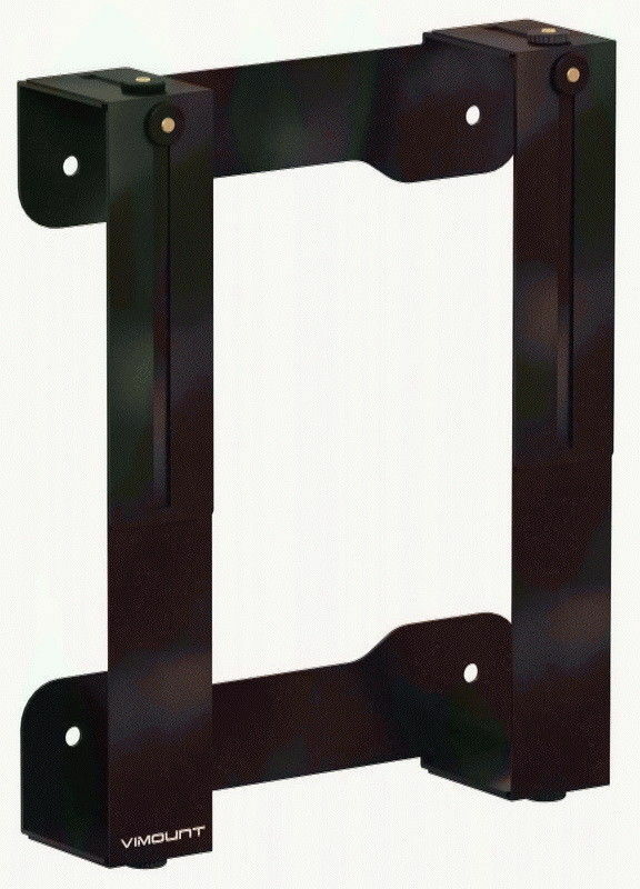 Universal Black TV Wall Mount for XBOX 360 One/S/X and PS4 Metal Holder -ViMount