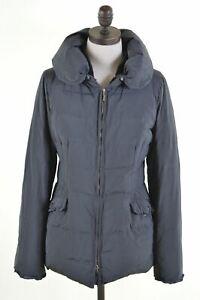 LIU-JO-Womens-Padded-Jacket-IT-42-Medium-Grey-Polyester-KG23