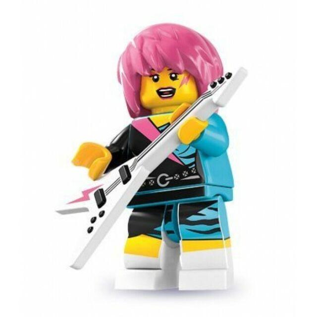 Lego Minifigure Mini Figure Minifig Series 7 Punk Rocker