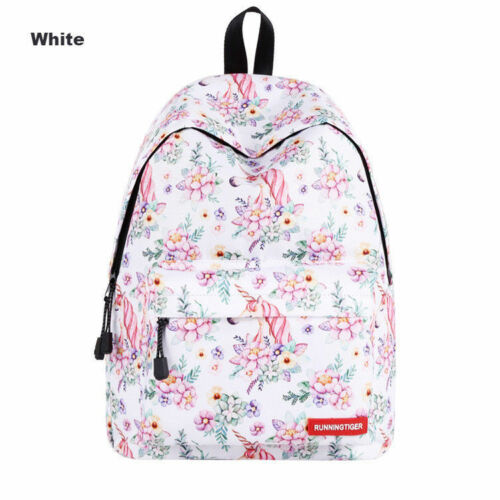 Fashion 3D Unicorn Backpack Rainbow College School Bag Girls Rucksack Satchel