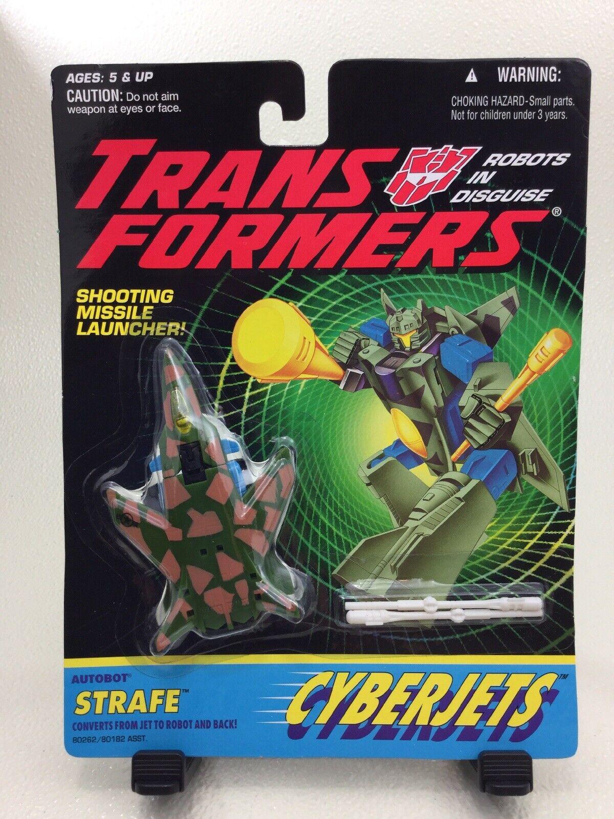 HASBRO STANDARD prototype Transformers G2 STRAFE Cyberjet Factory Sample