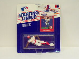 VINTAGE SEALED 1988 Starting Lineup SLU Figure Vince Coleman Cardinals FP