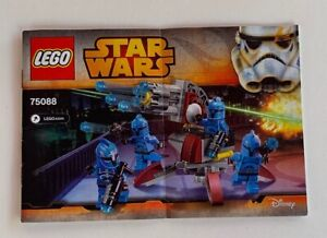 L-INSTRUCTIONS-ONLY-LEGO-75088-Star-Wars-Disney-manual-book-from-set