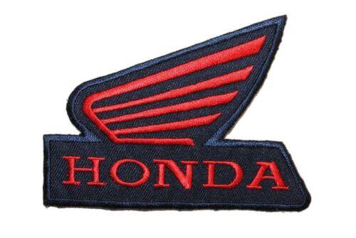 Honda 10,4 cm 7,7 cm perchas imagen Patch aplicación motocicleta vehículo motorräd