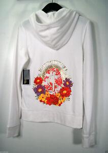 e4d462ea2baf Image is loading Juicy-Couture-Tracksuit-White-JC-Flowers-Velour-Original-