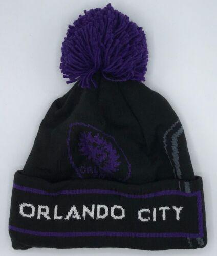 Fanartikel Weitere Ballsportarten Mls Orlando City Sc Adidas Bündchen Pom Strickmütze Kappe Beaniemütze