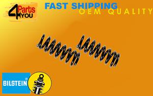 2x-BILSTEIN-BMW-E39-5-series-de-muelles-de-suspension-trasera-de-bobina