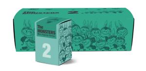 Labubu cómo funcionan los monstruos Mini 2 serie 2 Mini Figuras conjunto Kasing pulmón Mancha