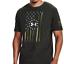 Baroque Green.136505 Under Armour Men/'s UA Freedom Flag Front HeatGear T-Shirt