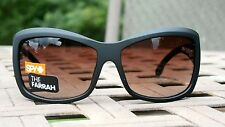 SPY OPTIC FARRAH Black w/ Bronze Fade Lens Womans Sunglasses