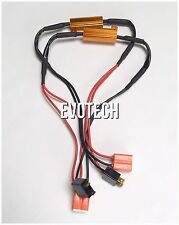 2x Xenon HID LED canbus canceler 50W6 resistor NO FLICKER ERROR H7 PLUG