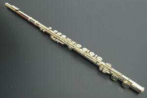 Authentic Azumi Flute AZ Z2E Altus Sterling Silver 925 Closed Hole Handmade ZCut