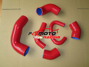 RED-For-Mitsubishi-Lancer-Evo-7-8-9-CT9A-4G63-Silicone-Intercooler-Hose-Pipe