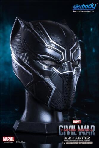 Original KILLERBODY 1//1 Captain America Black Panther Portable Casque super cool