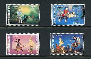 Thailand-1973-681-4-Thai-literature-scenes-4v-MNH-H284