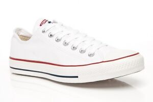 c8002d19b4b4 Converse All Star Lo Optic White M7652 Size 5 EUR 37.5 Unisex for ...
