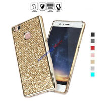Bling Glitter Diamond Soft TPU Phone Back Case Cover for Huawei P8 P8lite P9 G9