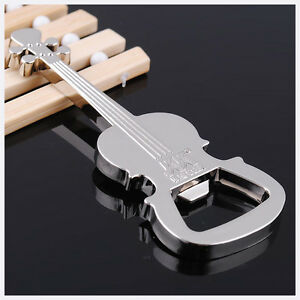 Aleacion-de-Zinc-Guitarra-Abridor-de-botellas-de-cerveza-instrumento-Llavero