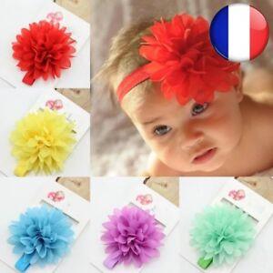 Bebe-Fille-Elastique-Hairband-Enfants-Cheveux-Bebe-Fleur-Bandeau-Accessoires