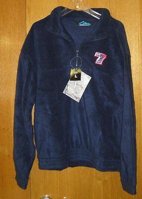 NWT Men/'s TriMountain USA SEVENS RUGBY Escape Grey Fleece Jacket LG Football