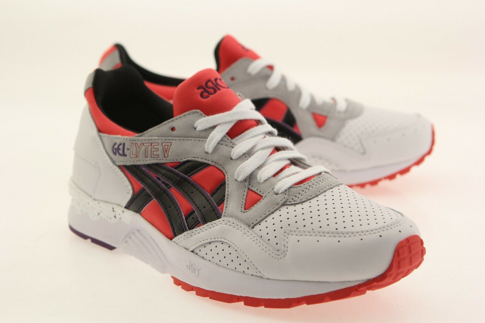 Asics Tiger Men Gel-Lyte V red poppy red black H613Y-2590