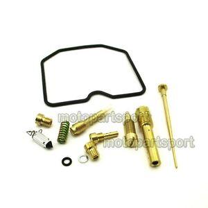 Carburetor Rebuild Carby Repair Kit For Kawasaki Prairie 360 KVF360 2003 - 2007