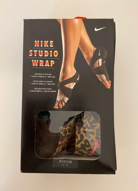 Nike Sz S Women S Studio Wrap 2 Prt Yoga Dance Barre Shoes 641529 003 For Sale Online Ebay