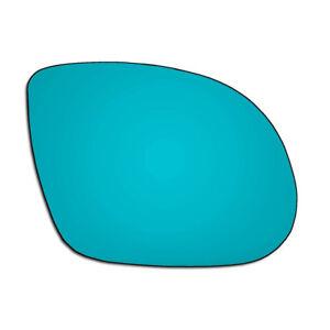 Right-Driver-Side-Vauxhall-Corsa-C-SRI-00-06-BLUE-Convex-Wing-Mirror-Glass-Hagus