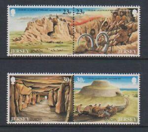 Jersey-1994-Europa-Archeologiques-Discoveries-Ensemble-MNH-Sg-655-8