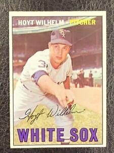 1967-Topps-Hoyt-Wilhelm-422-NM-MT-HOF-Chicago-White-Sox