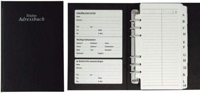 Veloflex® Adressbuch 5 Farben A6