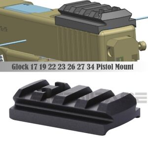 Glock-Sight-Mount-Plate-Glock-17-19-22-23-26-27-34-Rail-Base-for-Red-Dot-Sight