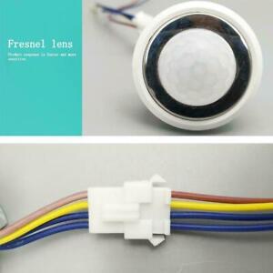 Mini-PIR-Sensor-Detektor-Smart-220V-LED-PIR-Infrarot-Bewegungsmelder