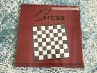 Parna Chess 17 Inch Large Mahogany & Maple Wood Game Set Flat Inlaid Board Only