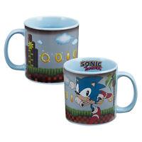 Sonic The Hedgehog Video Game Art Heat Reactive 20 Oz Ceramic Mug Unused