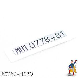 GameBoy-Pocket-Serial-Number-Sticker-Seriennummer-Label-ID-Nummer-GBP-Game-Boy