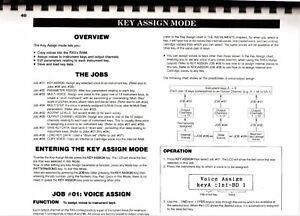 YAMAHA-RX5-Digital-Rhythm-Programmer-Owners-Manual-Good-Condition