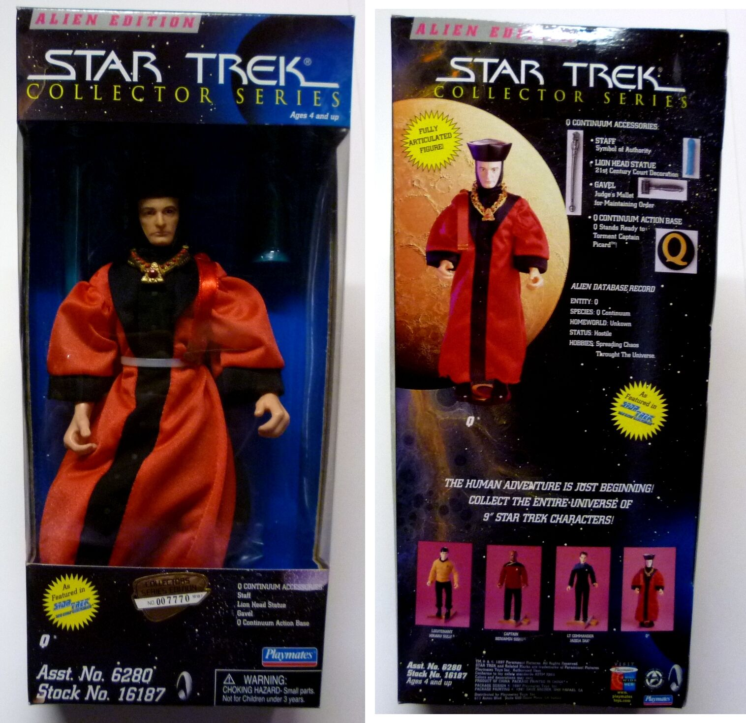 Star Trek Playmates Toys 9