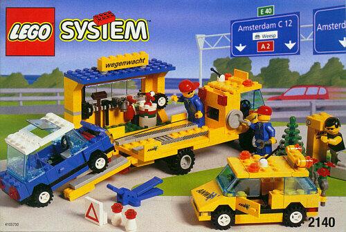Lego Classic Classic Classic Town 2140 ANWB Roadside Assistance Crew New Sealed dee702