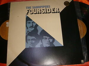 THE-SANDPIPERS-FOURSIDER-12-inch-Double-LP-Vinyl-Records-33rpm-Made-in-USA