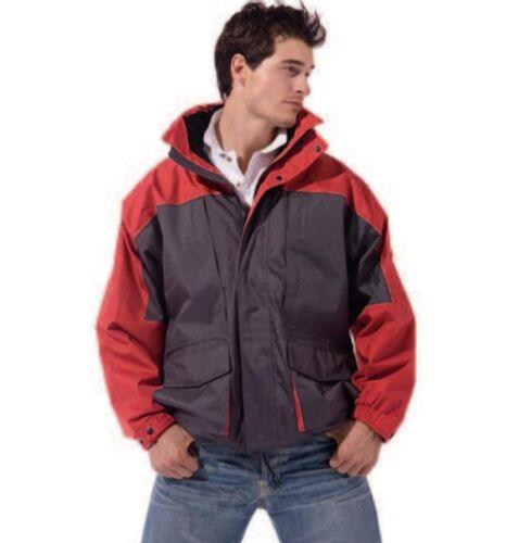Water resistant Wind Fleece Ski Snowboard Camping Mountain Mens JACKET 3in1