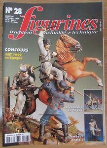 Rivista-Militari-Figure-N-28-di-1999-Uniformi-Dragons-Ufficiali-di-1804