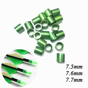 12pcs//pack Archery Aluminum Nock Pin for Arrow Shaft for Nock Compound Bow  DFUK