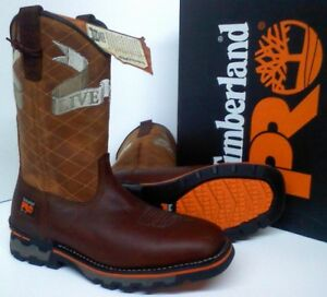 8f904f7766d8 Image is loading Timberland-PRO-AG-Boss-Independence-Work-Boots-Waterproof-