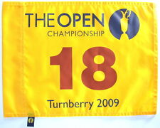 2009 OFFICIAL (St. Andrews) BRITISH OPEN Golf FLAG