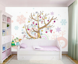 3D Tree Anime 437 Wallpaper Murals Wall Print Wallpaper Mural AJ