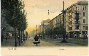 AK München, Goetheplatz, ca 1910, nicht gel.